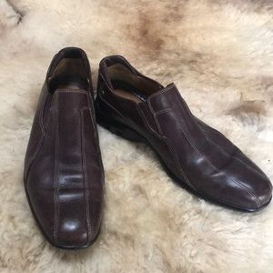 Men's Cole Haan Nike Air Brown Leather Shoes